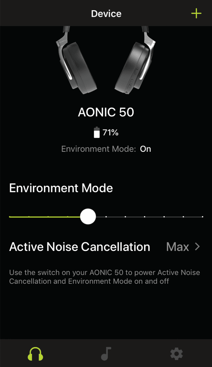 shure aonic 50 play app