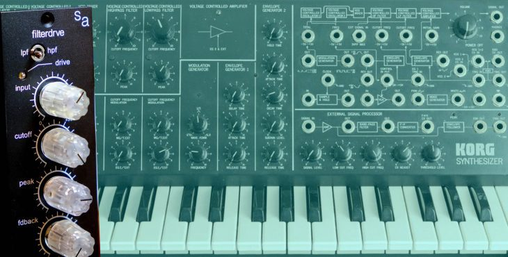 singular audio filterdrve 500 rack