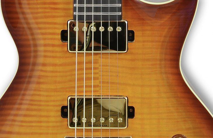 Solar Guitars GC1.6FAB Duncan Solar Pickups