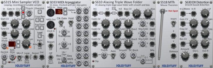 solorack 2 new modules
