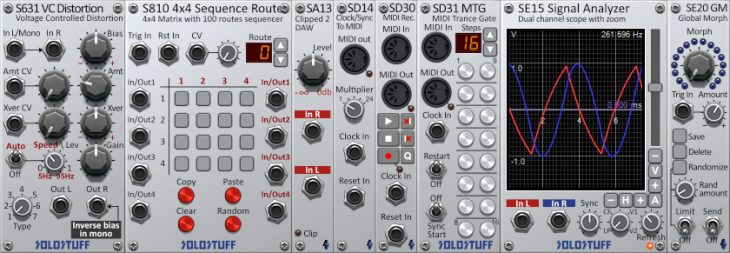 solorack 2.0 modular system software