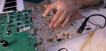 Soma Laboratory Reflex, polyphoner Synthesizer in der Entwicklung