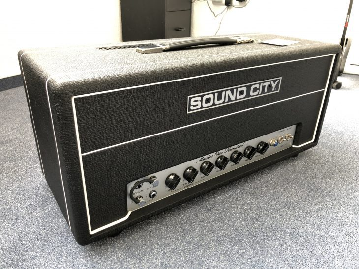 Test: Sound City Master One Hundred, Gitarrenverstärker