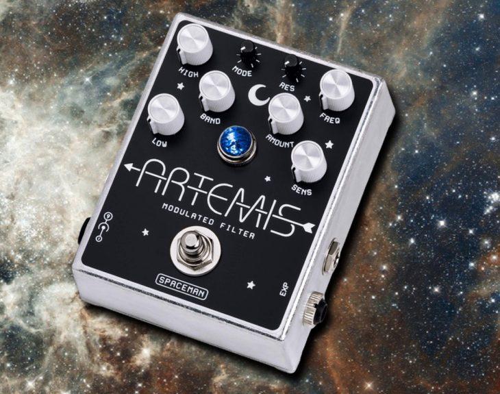 Test: Spaceman Artemis Modulated Filter Effektpedal für Gitarre