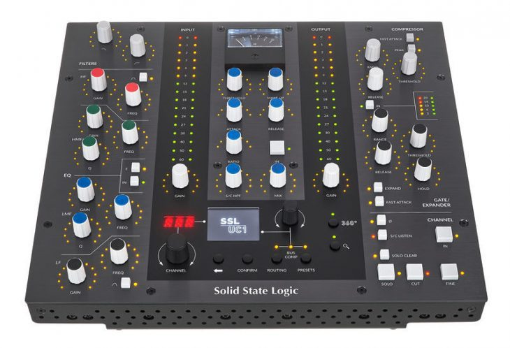 ssl uc1 controller