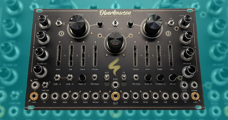 st modular oberhausen eurorack oscillator module diy