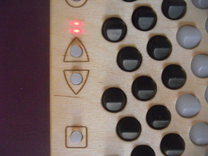 Striso board Octave LEDs
