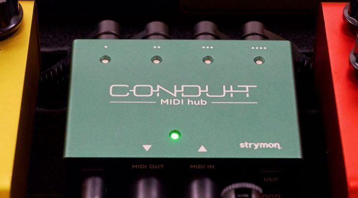 Strymon bringen Conduit MIDI Hub