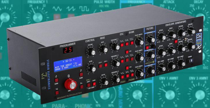 studio electronics SE-3X synthesizer