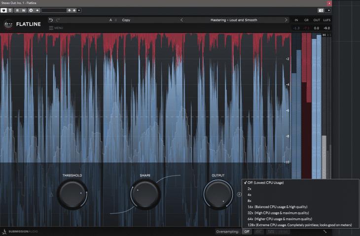 Submission Audio - Flatline - Oversampling