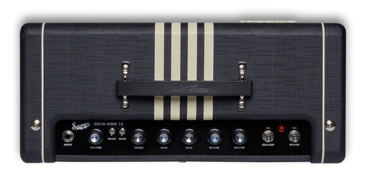 Supro Delta King 12 Combo BC Panel