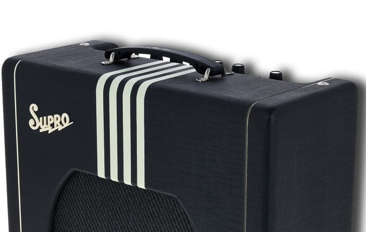 Supro Delta King 12 Combo BC Stripes