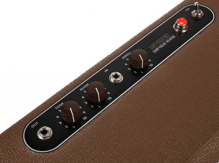 Test: Surfy Industries Surfybear Classic Reverb, Hallpedal