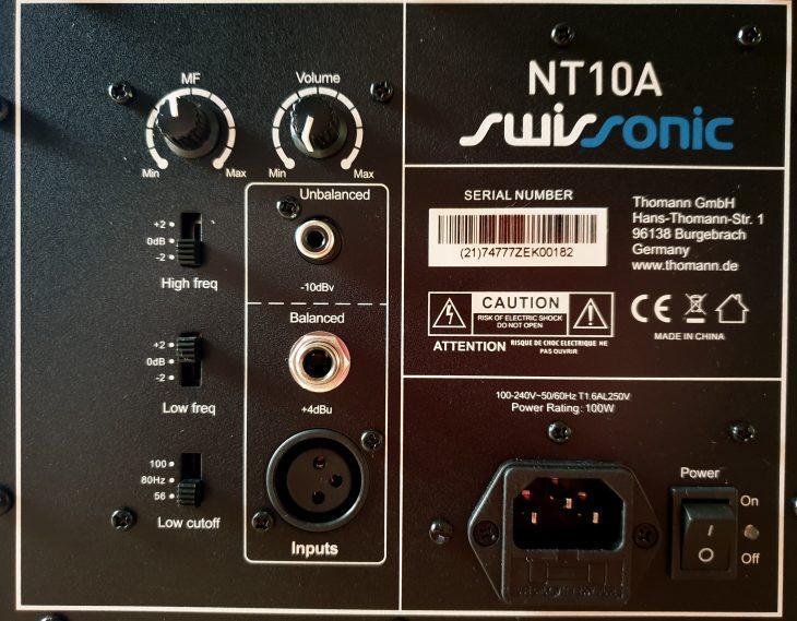 Swissonic NT10A