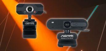 Test: Swissonic Webcam 1 Full HD, Webcam 2 Full HD AF, USB-Webcam