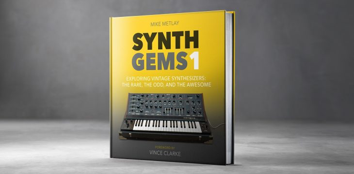 synth gems 1 vintage synthesizer book cover