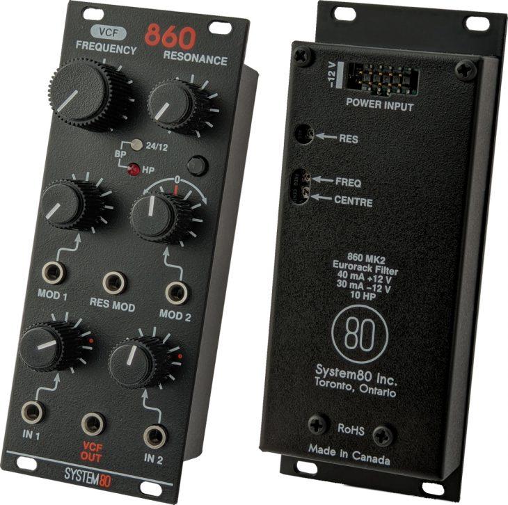 system80 860 mk2 vcf eurorack modul