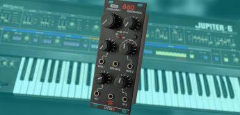 System80 860 MK2, Eurorack-Filtermodul nach Roland Jupiter-6