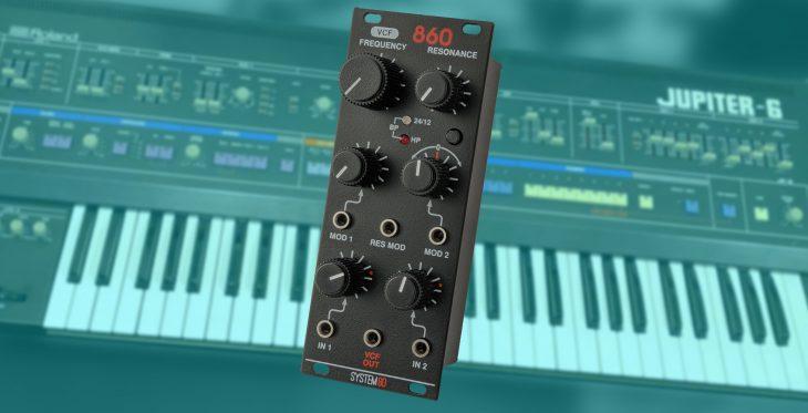 system80 860 MK2 eurorack filter modul jupiter-6