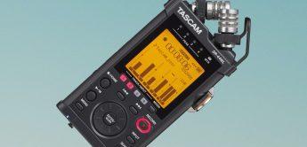 Neuer 4-Spur-Recorder mit WLAN: Tascam DR-44 WLB