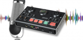 Test: Tascam Ministudio Creator US-42B, USB-Podcast-Audiointerface