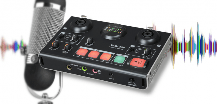Tascam Ministudio Creator US-42B, USB-Audiointerface