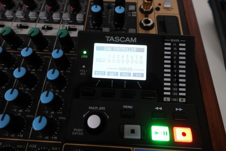 Tascam Model 12 Recording