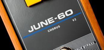 TC electronic June-60 V2, Chorus-Pedal nach Juno-60