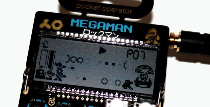 Teenage Engineering Pocket Operator 128 Megaman Userbild Detail Display Pattern Play 07 Aktion