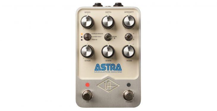 Test: Universal Audio Astra Modulation Machine, Effektpedal