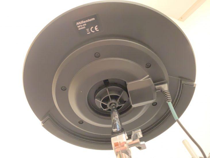 test beats millenium mps450 cymbal