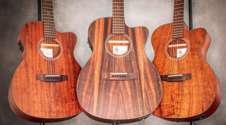 Test: Harley Benton CLD-15CE Flame Koa Exotic, Westerngitarre