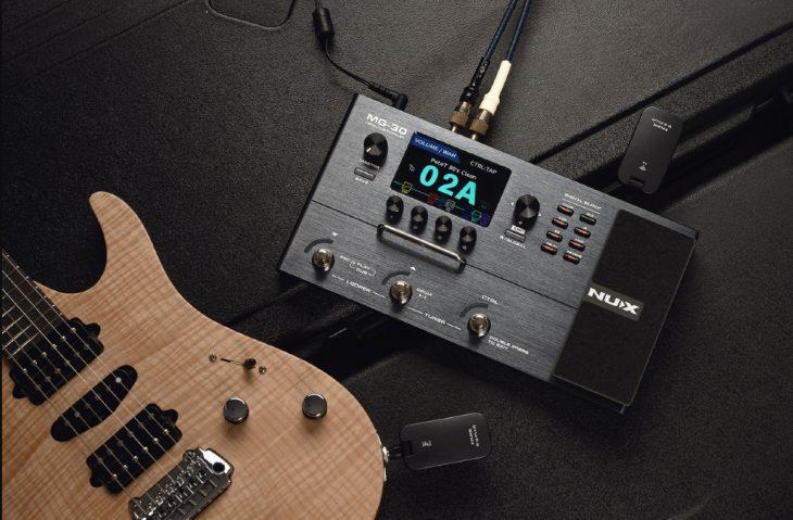 Vergleich: Nux MG-30 vs Mooer GE300 Lite, Gitarren-Multieffektgeräte