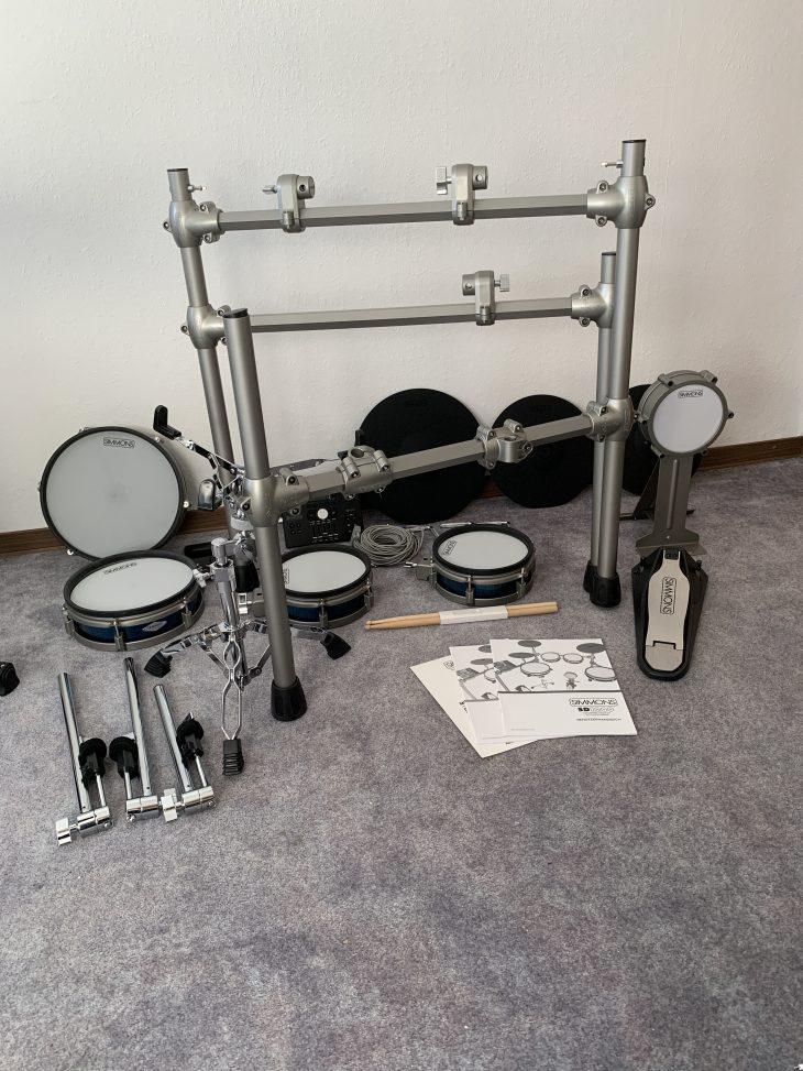 Test Simmons SD1200 Einzelteile