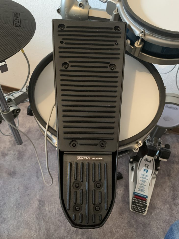 Test Simmons SD1200 HiHat Pedal