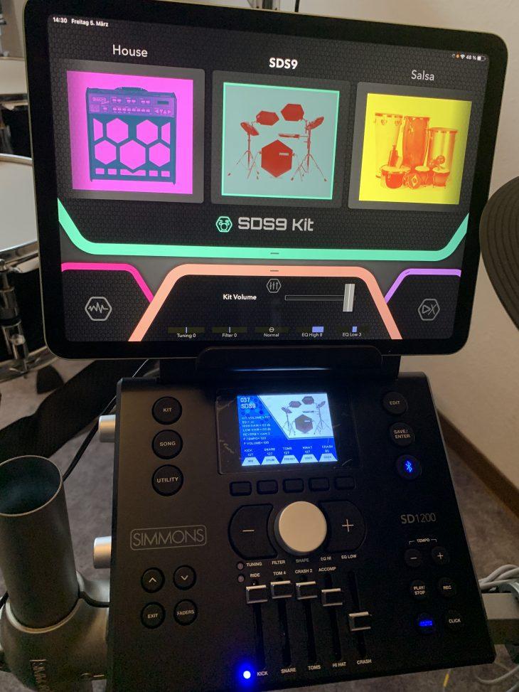 Test Simmons SD1200 Modul plus App