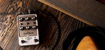 Test: Universal Audio Golden Reverberator, Reverb-Pedal