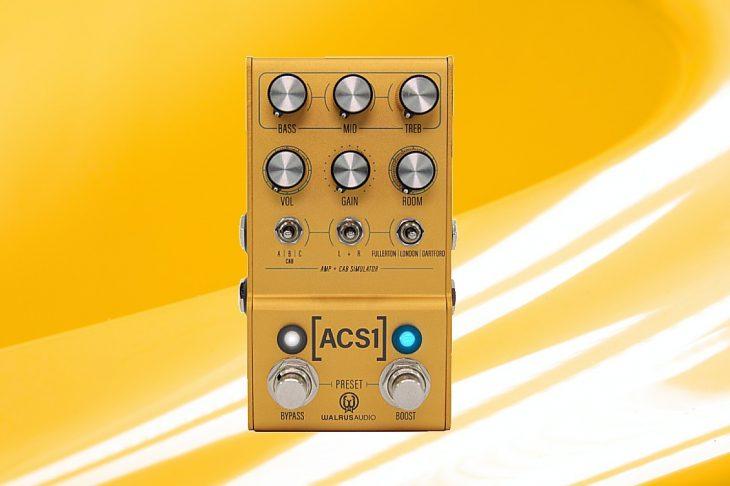 Test: Walrus Audio ACS1, Cab-Simulator Pedal