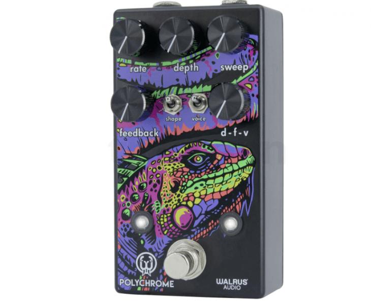 Test: Walrus Audio Polychrome, Modulationspedal