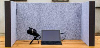 t.akustik Desktop Absorber: Tisch-Absorber für Homestudios und Podcaster