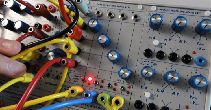 tiptop audio buchla 200 series eurorack lopass gate
