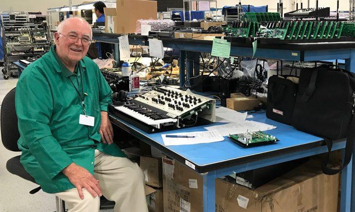 tom oberheim tvs pro synthesizer