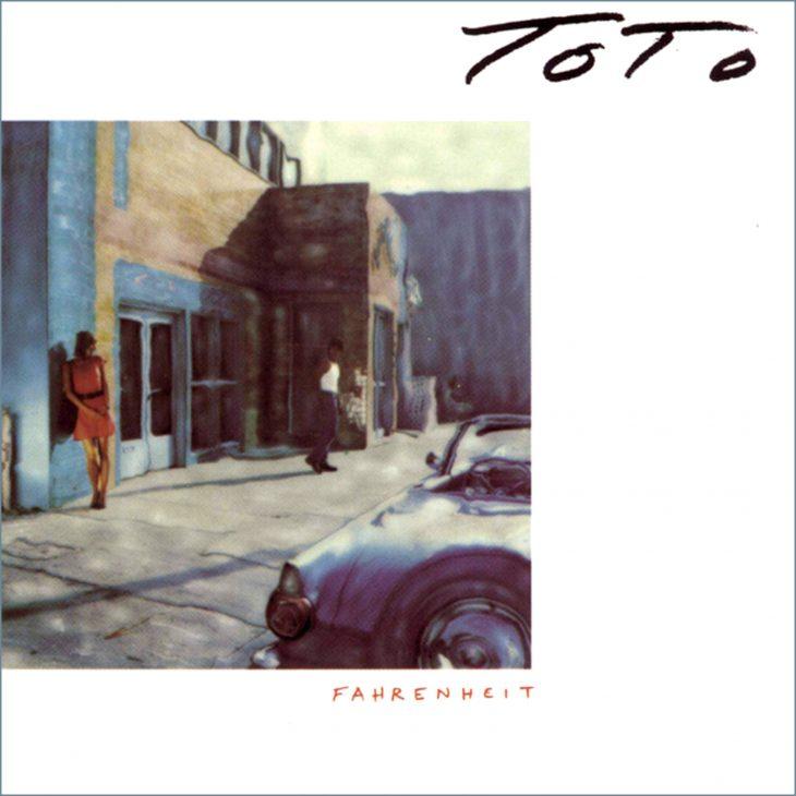 Toto -Fahrenheit Albumcover