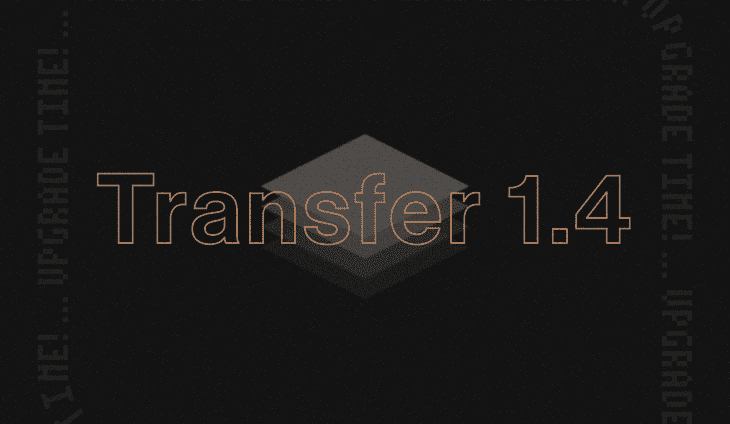 elektron transfer 1.4 upgrade