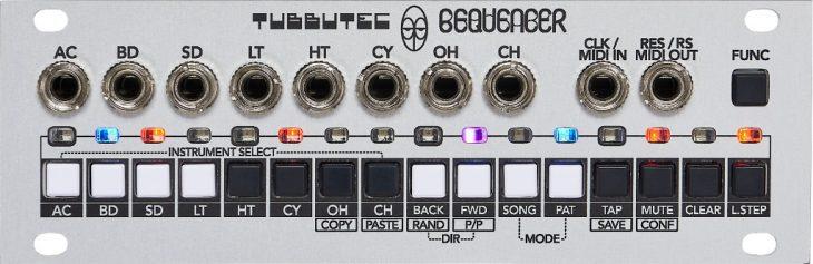 Tubbutec 6equencer Herstellerbild 1U_front
