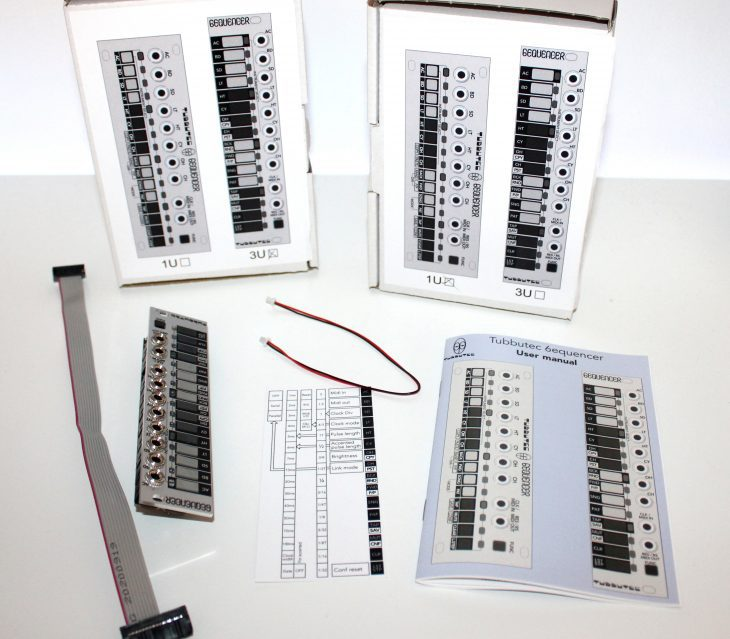 Tubbutec 6equencer Userbild Verpackungsinhalt