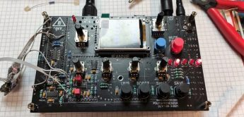 TubeOhm Jeannie, 8-stimmiger Wavetable-Synthesizer