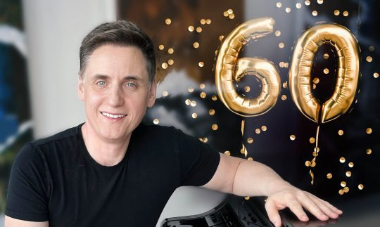Uli, wir gratulieren Dir zu Deinem 60. Geburtstag