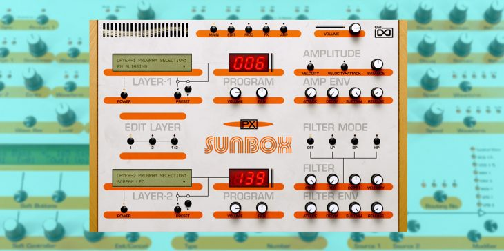 uvi sunbox plugin jomox sunsyn synthesizer