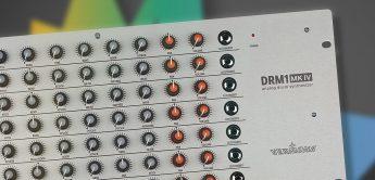 Vermona DRM1 MKIV, neue Version des analogen Drum-Synthesizers